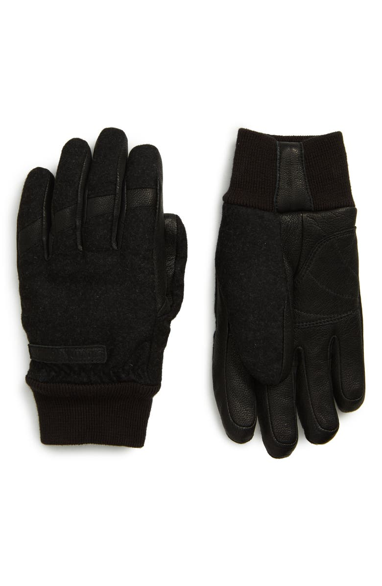 CANADA GOOSE Waterproof Down Gloves, Main, color, 001