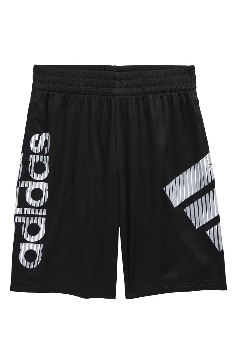 ADIDAS Kids' Y in Motion Athletic Shorts, Main, color, BLACK