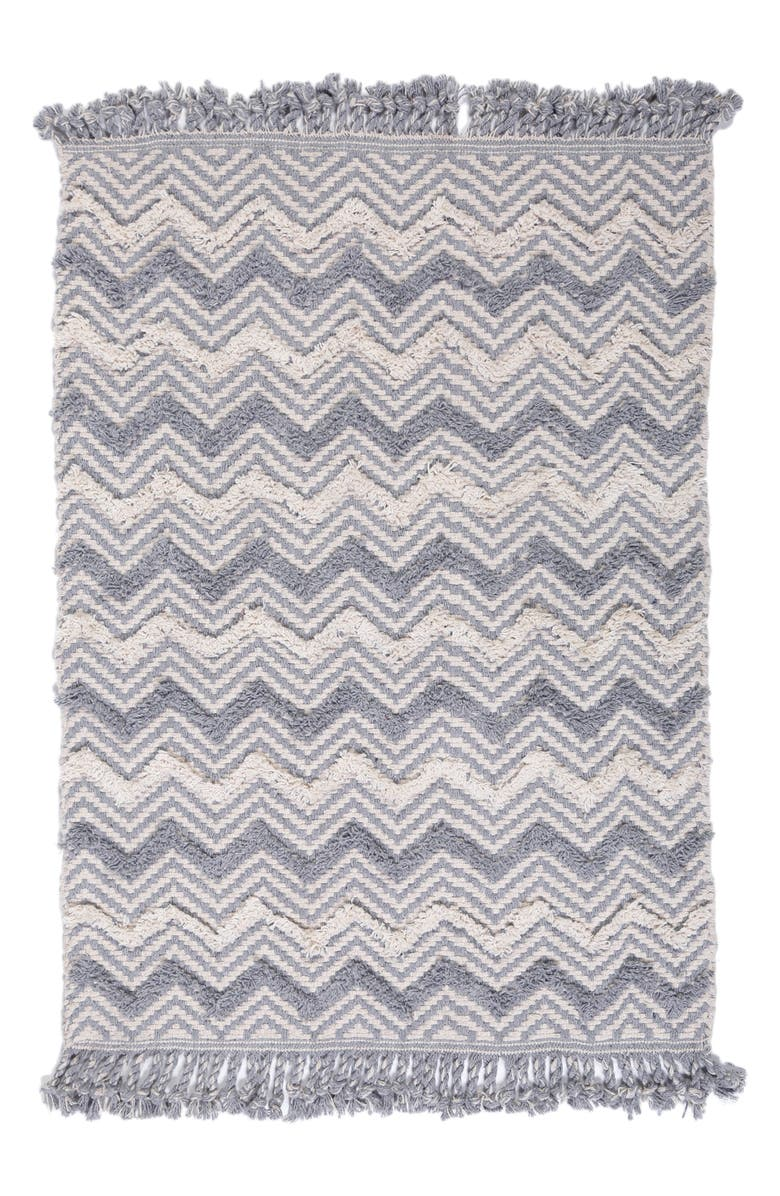 POM POM AT HOME Selby Hand Woven Rug, Main, color, BLUE GREY