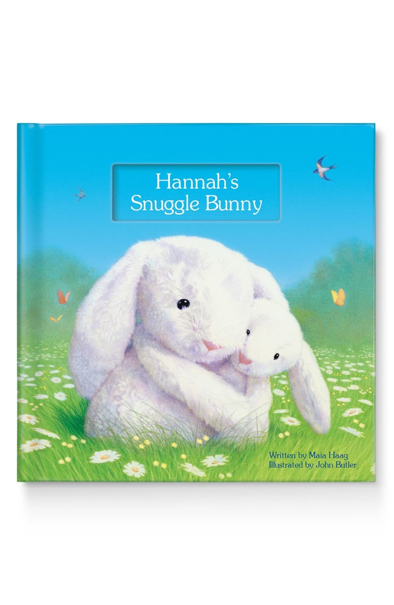I SEE ME! 'My Snuggle Bunny' Personalized Book, Main, color, White
