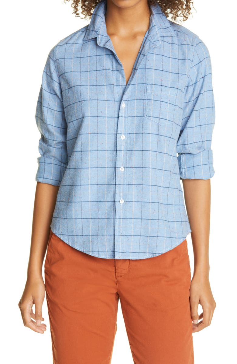FRANK & EILEEN Barry California Flannel Button-Up Shirt, Main, color, MULTI COLOR PLAID