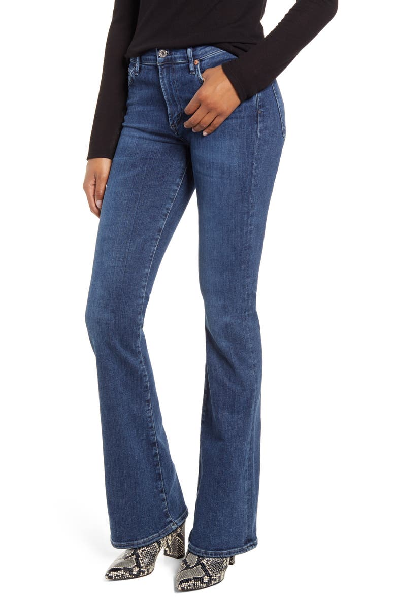 CITIZENS OF HUMANITY Citizen of Humanity Emanuelle Slim Bootcut Jeans, Main, color, 405