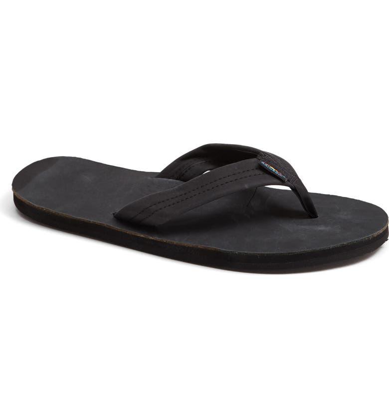 RAINBOW<SUP>®</SUP> Rainbow '301Alts' Sandal, Main, color, BLACK