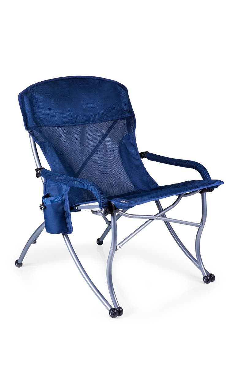PICNIC TIME PT-XL Navy Camp Chair, Main, color, NAVY