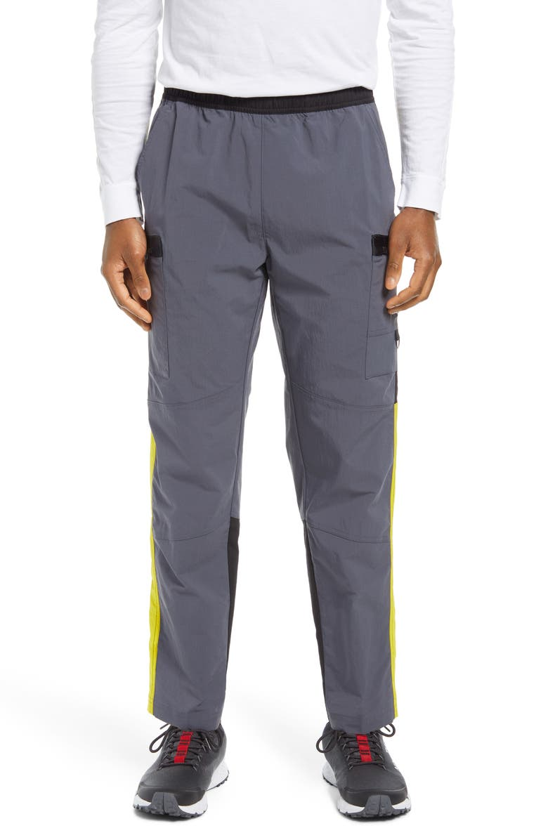 THE NORTH FACE Steep Water Repellent Tech Pants, Main, color, Grey/Yellow/Black
