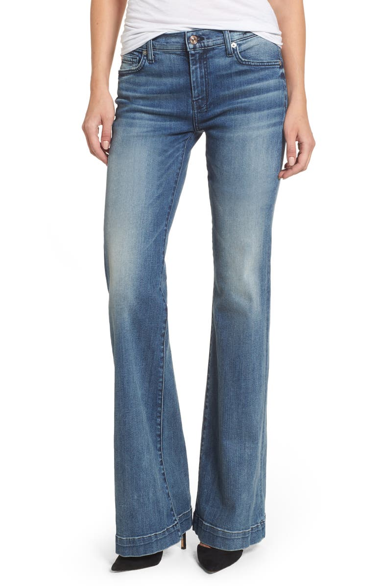 7 FOR ALL MANKIND<SUP>®</SUP> 'Dojo' Wide Leg Jeans, Main, color, 405