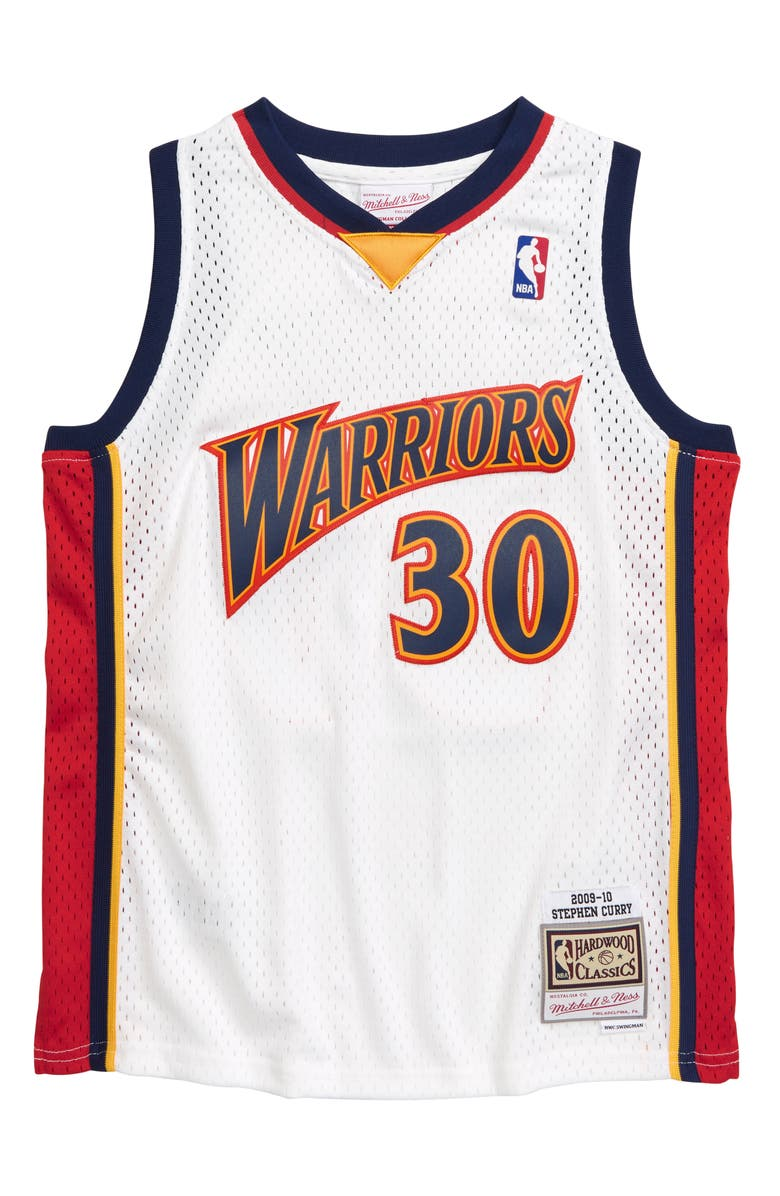 MITCHELL & NESS Stephen Curry Swingman Basketball Jersey, Main, color, 100