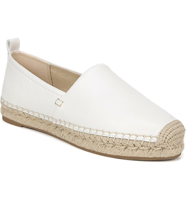 SAM EDELMAN Khloe Espadrille Flat, Main, color, BRIGHT WHITE
