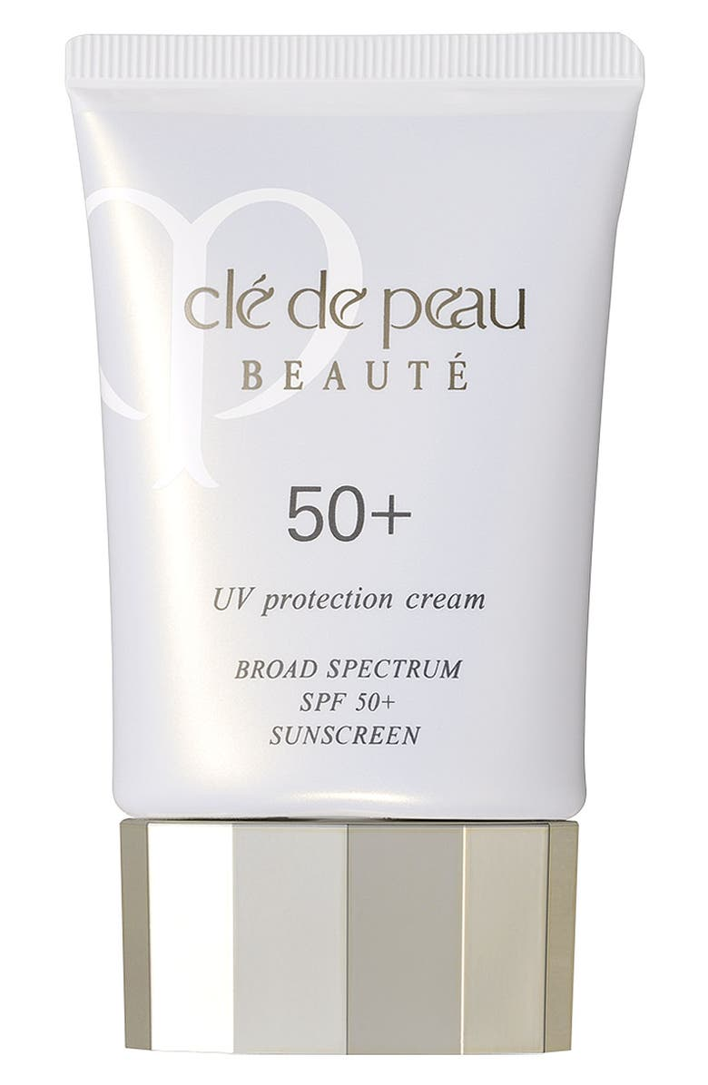 CLÉ DE PEAU BEAUTÉ 'Protect' Sunscreen Broad Spectrum SPF 50+, Main, color, 000