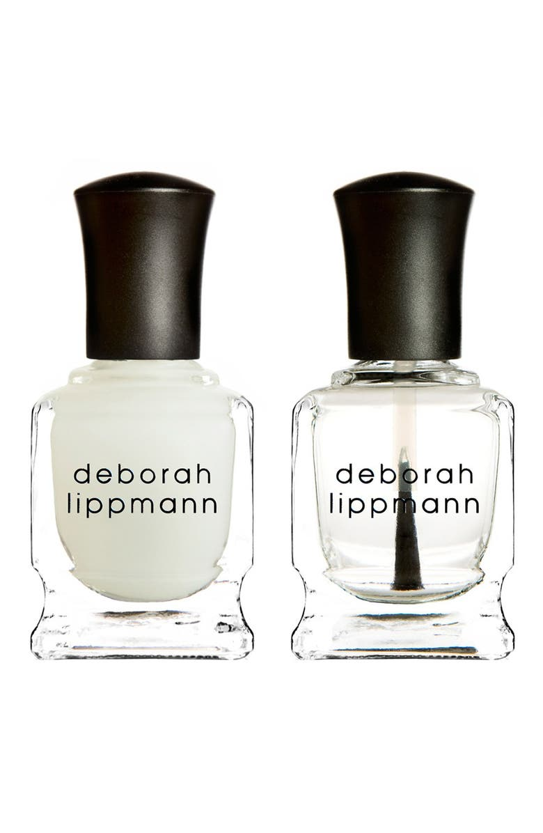 DEBORAH LIPPMANN 'Gel Lab' Mini Top & Base Coat Duo, Main, color, 000