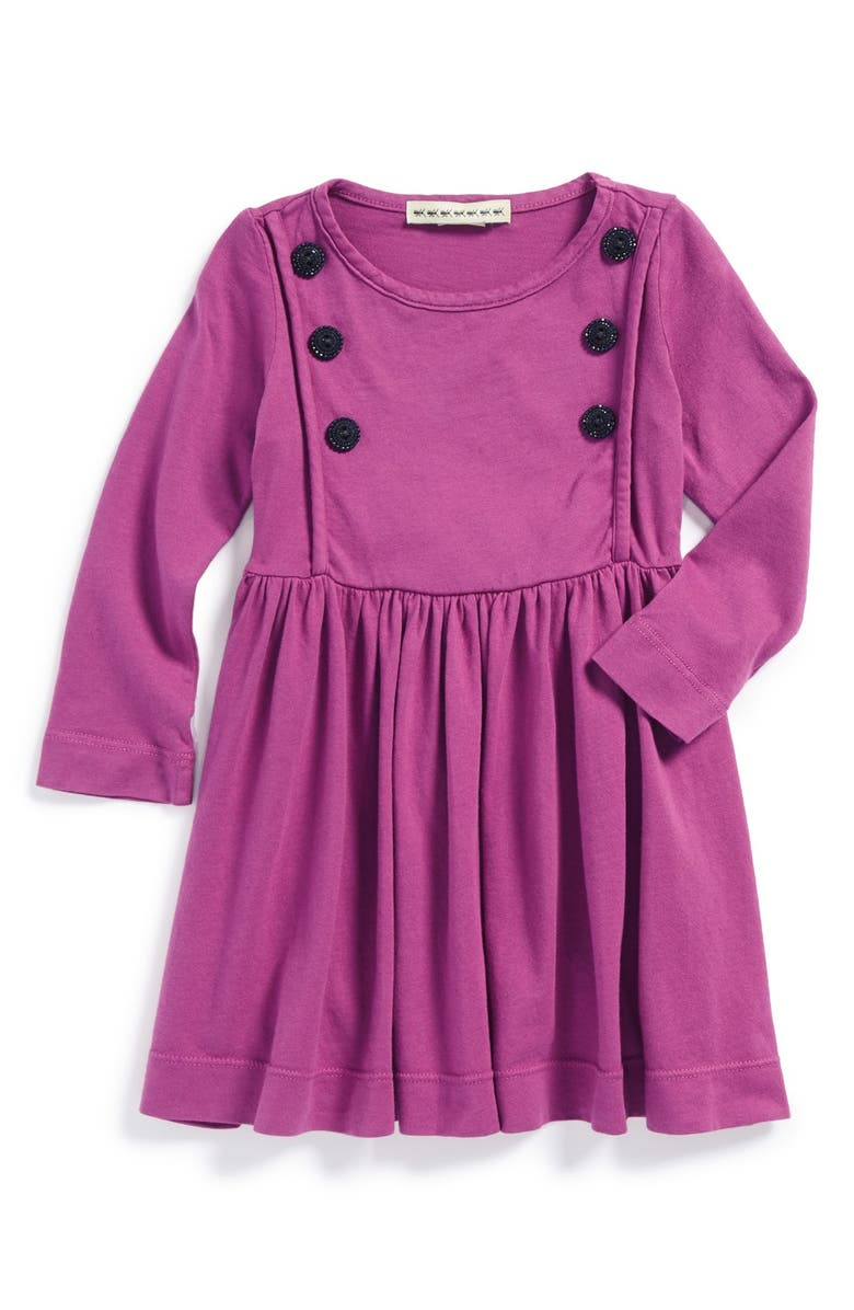 ANTHEM OF THE ANTS 'City' Button Front Knit Dress, Main, color, WILDBERRY