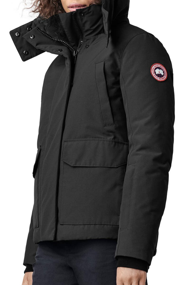 CANADA GOOSE Blakely Water Resistant 625 Fill Power Down Parka, Main, color, 001