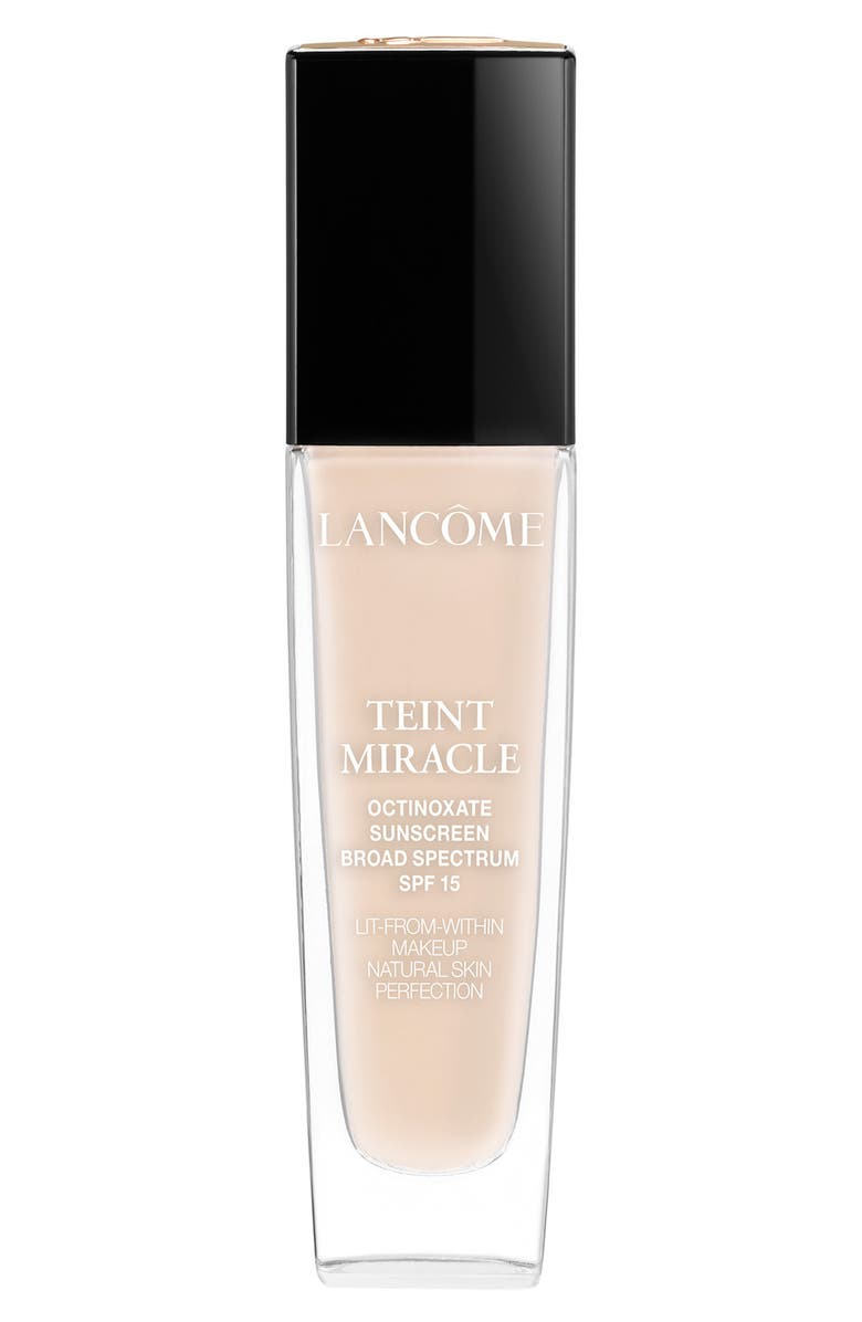 LANCÔME Teint Miracle Lit-from-Within Makeup Natural Skin Perfection Foundation SPF 15, Main, color, 250