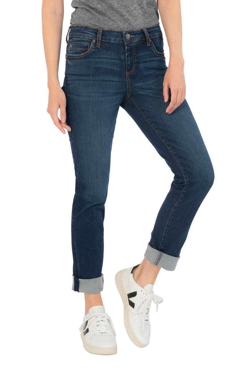 KUT FROM THE KLOTH Catherine Boyfriend Jeans, Main, color, QUICKEN