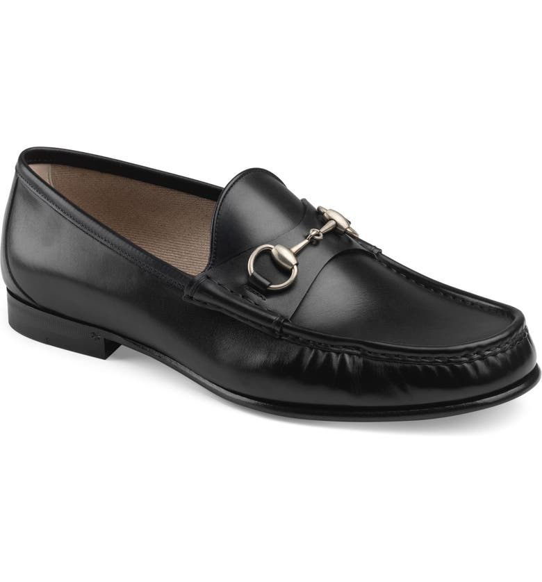 GUCCI Bit Loafer, Main, color, BLACK
