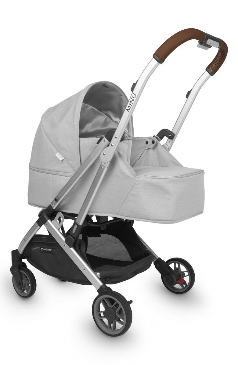 UPPABABY Minu From Birth Kit, Main, color, LIGHT GREY MELANGE