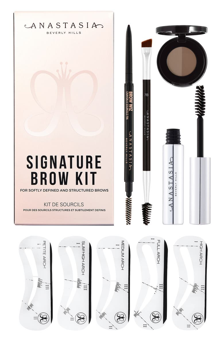 ANASTASIA BEVERLY HILLS Signature Brow Kit, Main, color, SOFT BROWN