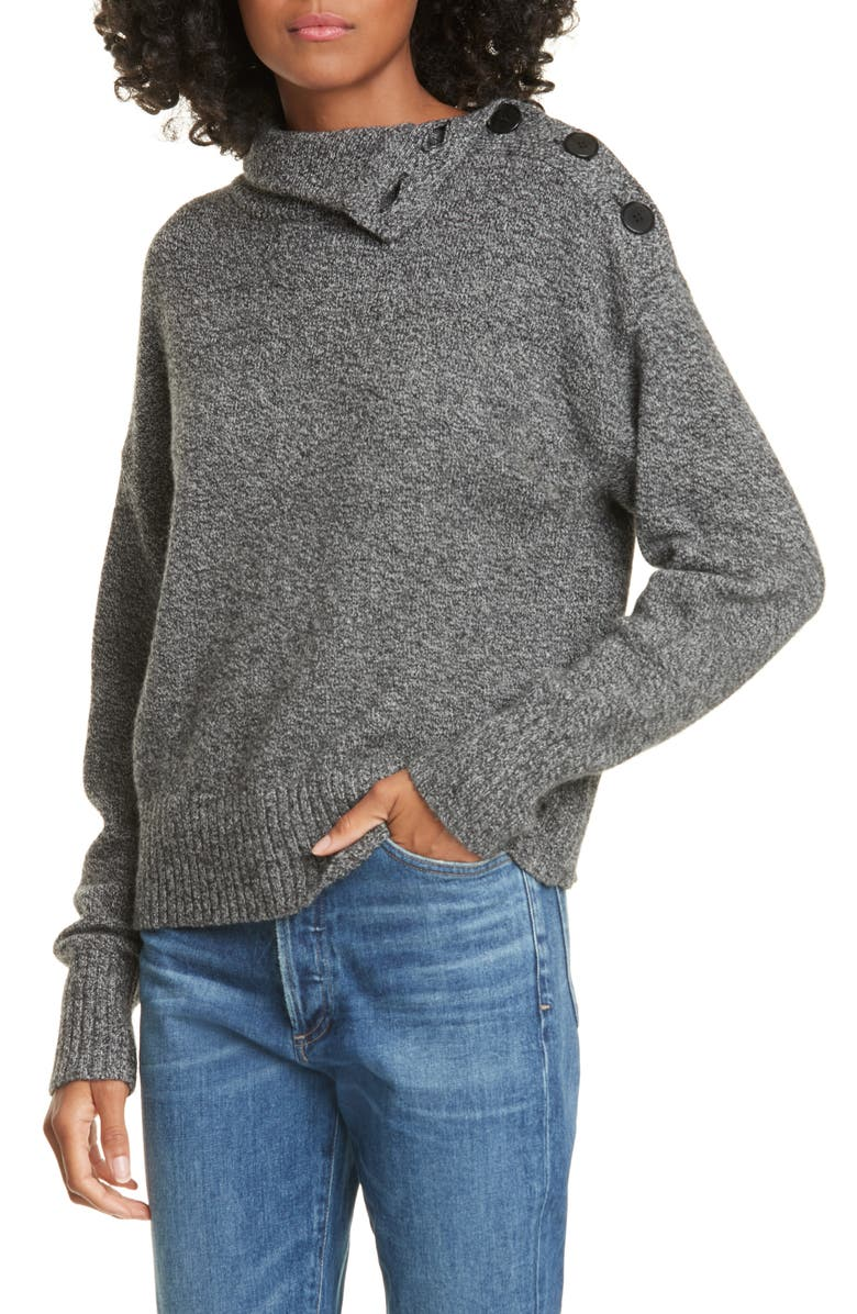 JUDITH & CHARLES Olivo Wool & Cashmere Sweater, Main, color, 020