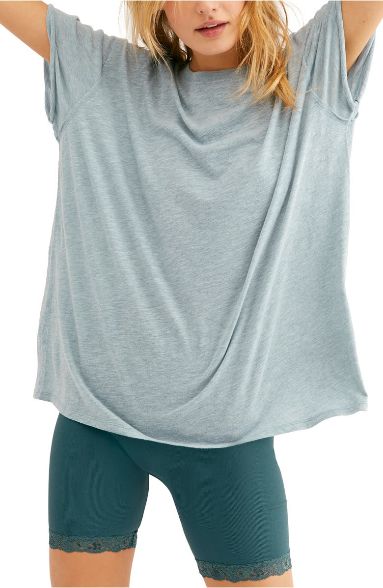 FREE PEOPLE Clarity Tee, Main, color, BLUE MOON