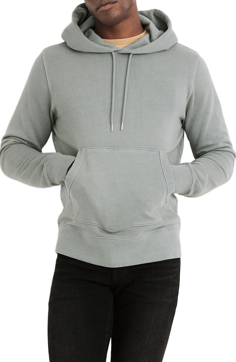 MADEWELL Hooded Sweatshirt, Main, color, POROUS GREY