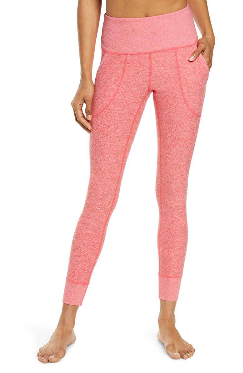 ZELLA Restore Soft Pocket Leggings, Main, color, PINK PARADISE