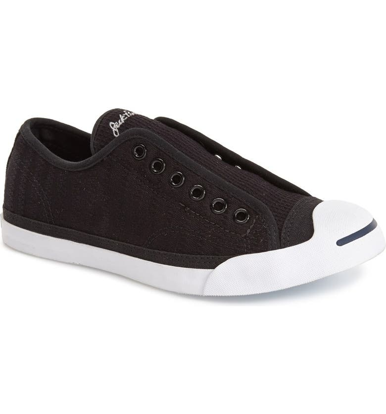 CONVERSE 'Jack Purcell' Garment Dye Low Top Sneaker, Main, color, 001