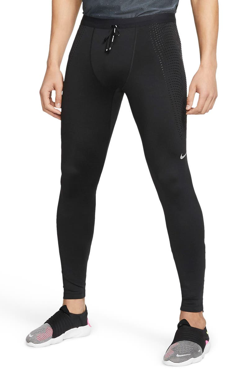 NIKE Dri-FIT Power Running Tights, Main, color, 010