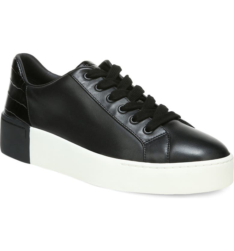 VINCE Bensley Lace-Up Sneaker, Main, color, BLACK