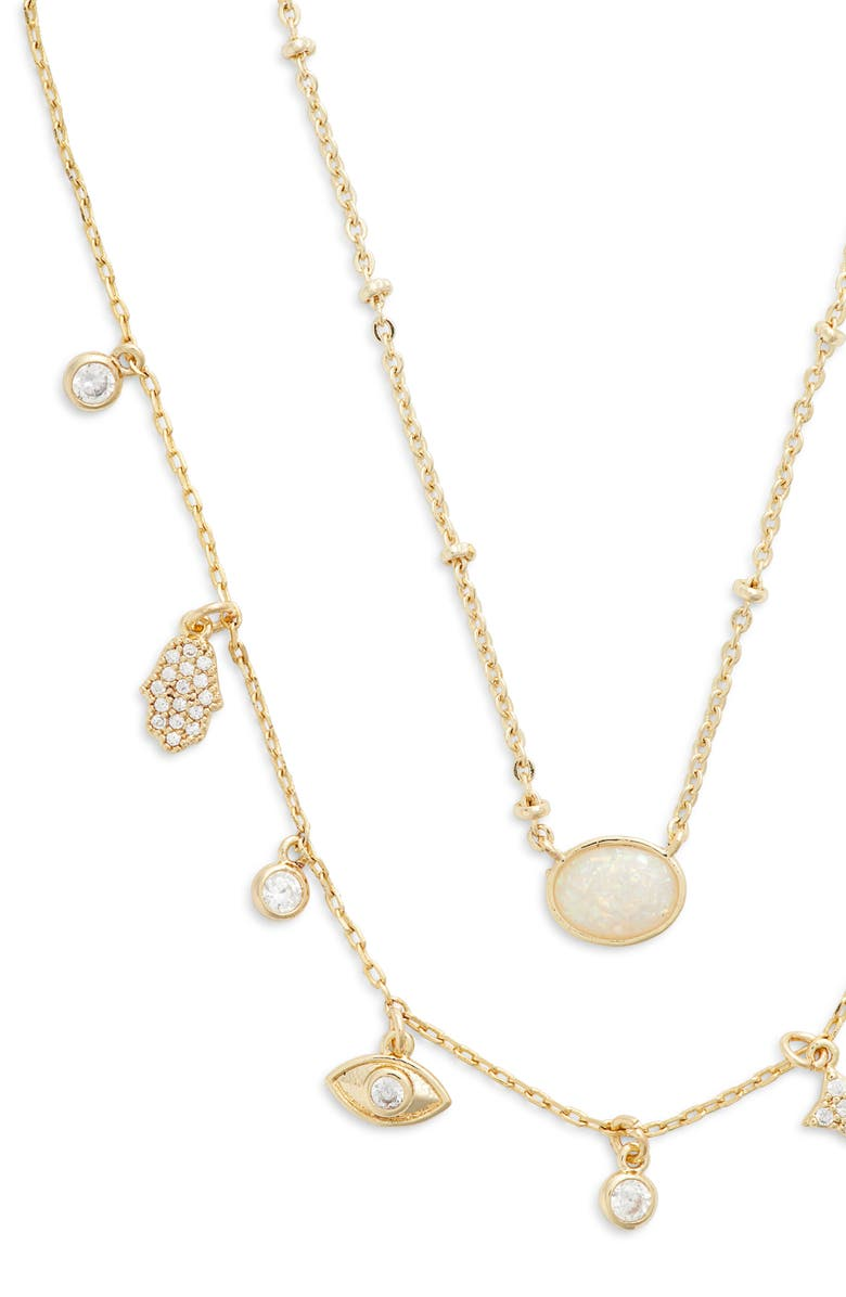 JULES SMITH Inner Goddess Layered Necklace, Main, color, 710