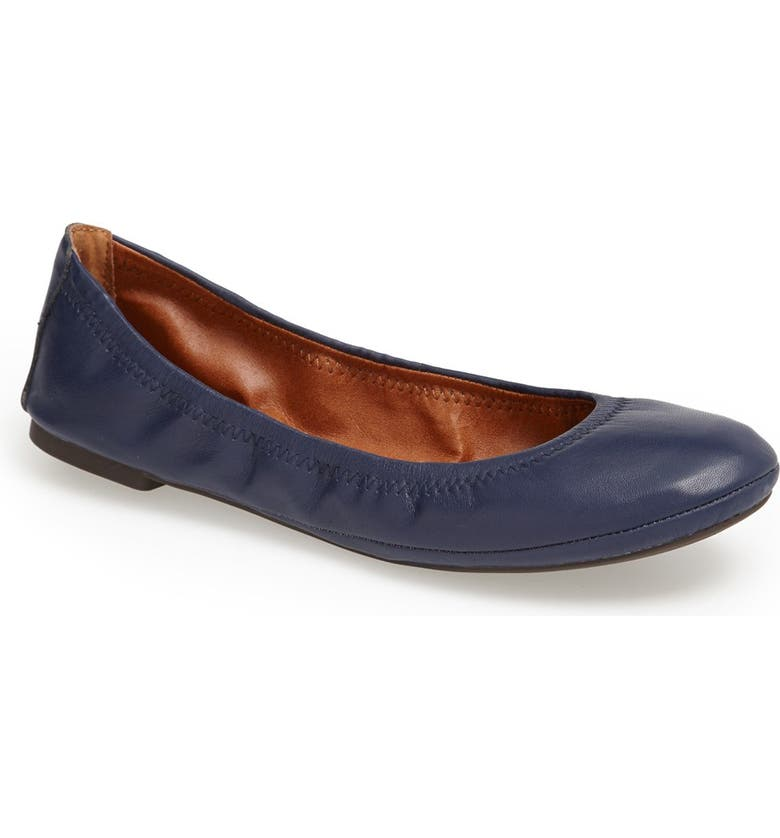 LUCKY BRAND 'Emmie' Flat, Main, color, NAVY