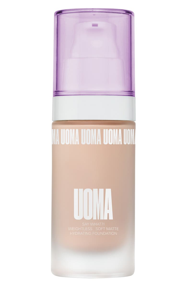 UOMA BEAUTY Say What?! Weightless Soft Matte Foundation, Main, color, WHITE PEARL T1C