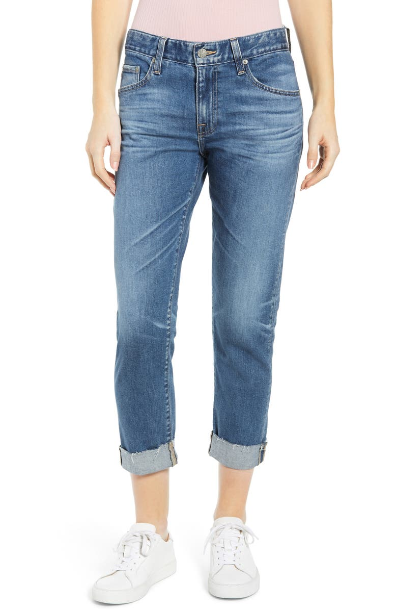 AG The Ex-Boyfriend Slim Jeans, Main, color, 14 YEAR COOL WATER