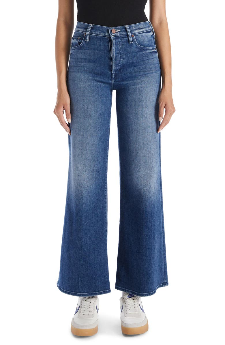 MOTHER The Tomcat Roller Wide Leg Jeans, Main, color, WE ALL IN THIS TOGETHER