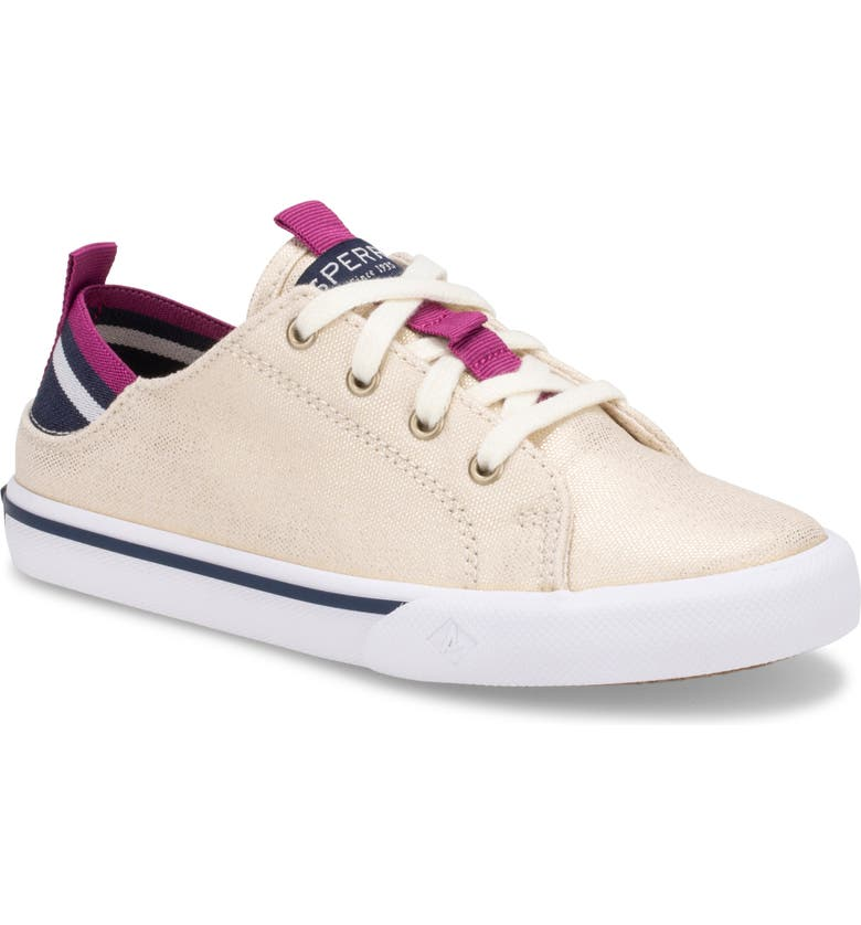 SPERRY Hy-Port Sneaker, Main, color, CHAMPAGNE
