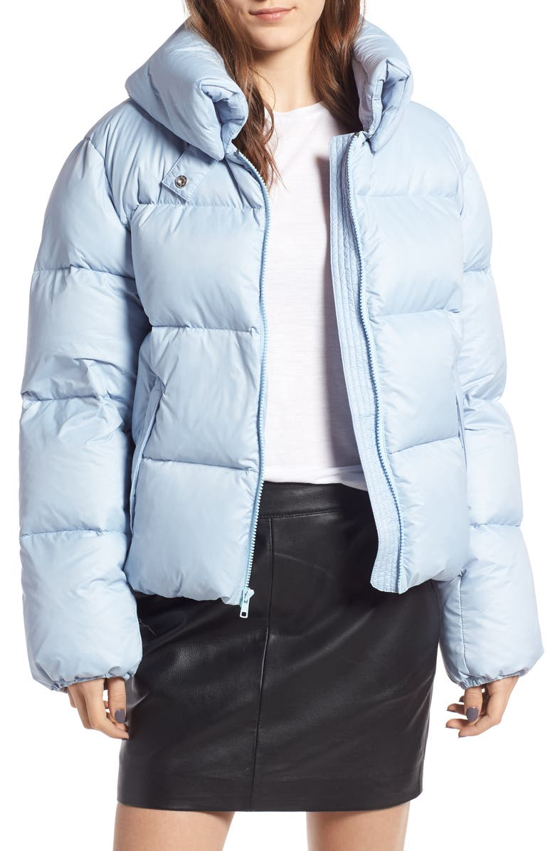 KENDALL + KYLIE Puffer Jacket, Main, color, 481