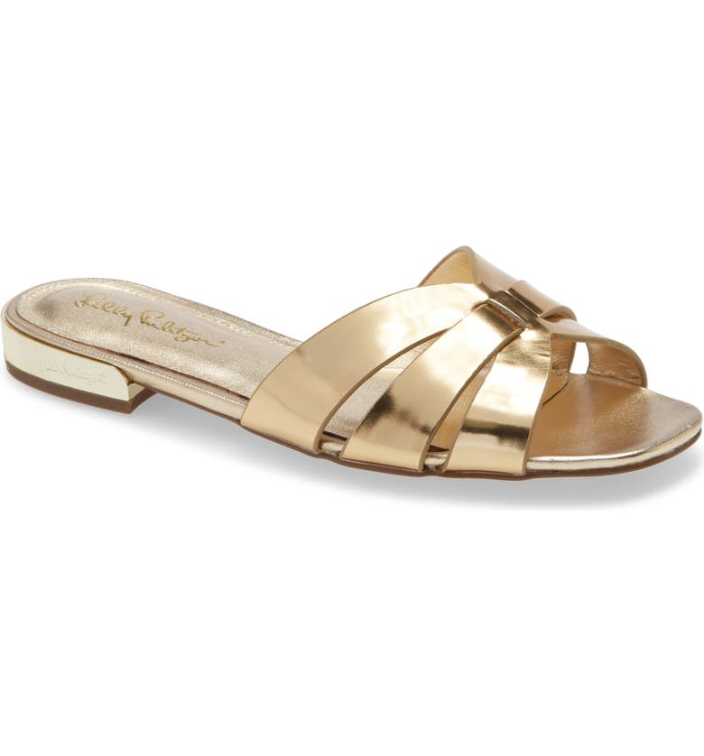 LILLY PULITZER<SUP>®</SUP> Whitley Slide Sandal, Main, color, 710