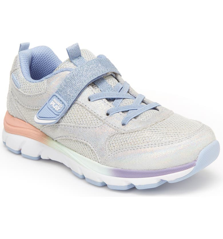 STRIDE RITE Made2Play<sup>®</sup> Nox Sneaker, Main, color, IRIDESCENT
