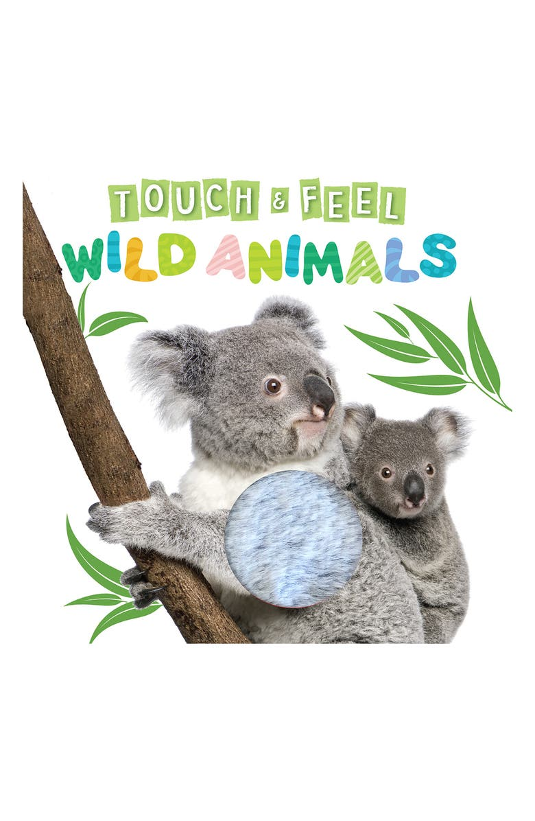 LITTLE HIPPO BOOKS Touch and Feel Wild Animals, Main, color, MULTI