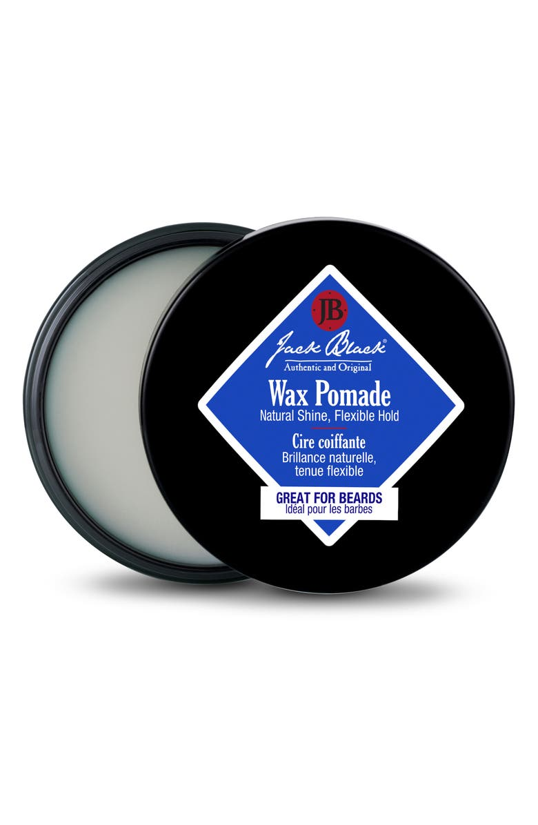 JACK BLACK Wax Pomade, Main, color, NO COLOR