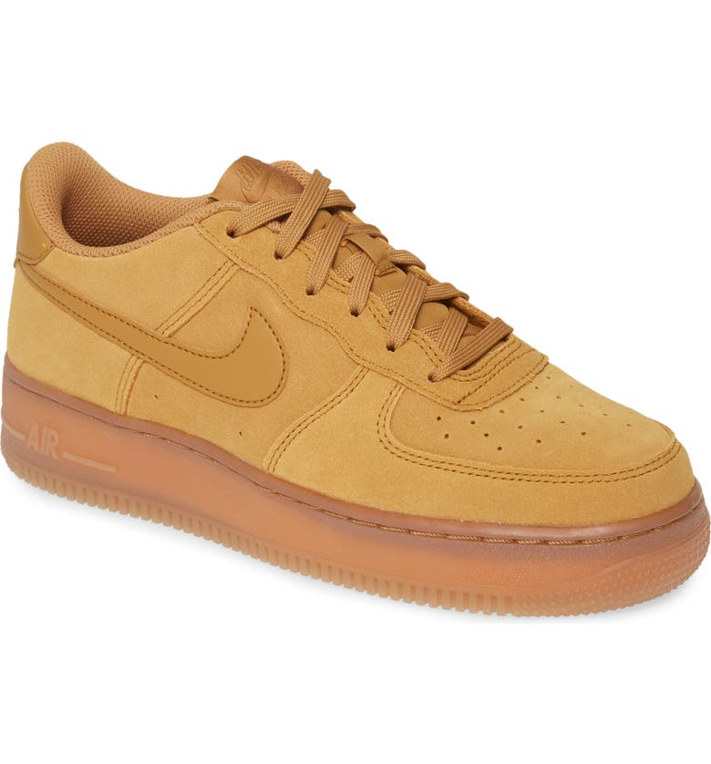 NIKE Air Force 1 LV8 3 GS Sneaker, Main, color, 202