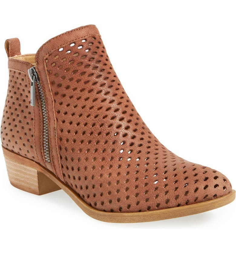 LUCKY BRAND Basel Perforated Bootie, Main, color, 230