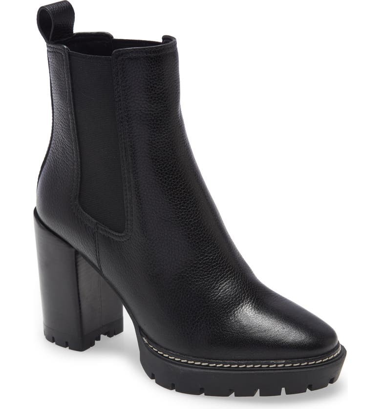 TORY BURCH Chelsea 70mm Lug Bootie, Main, color, PERFECT BLACK
