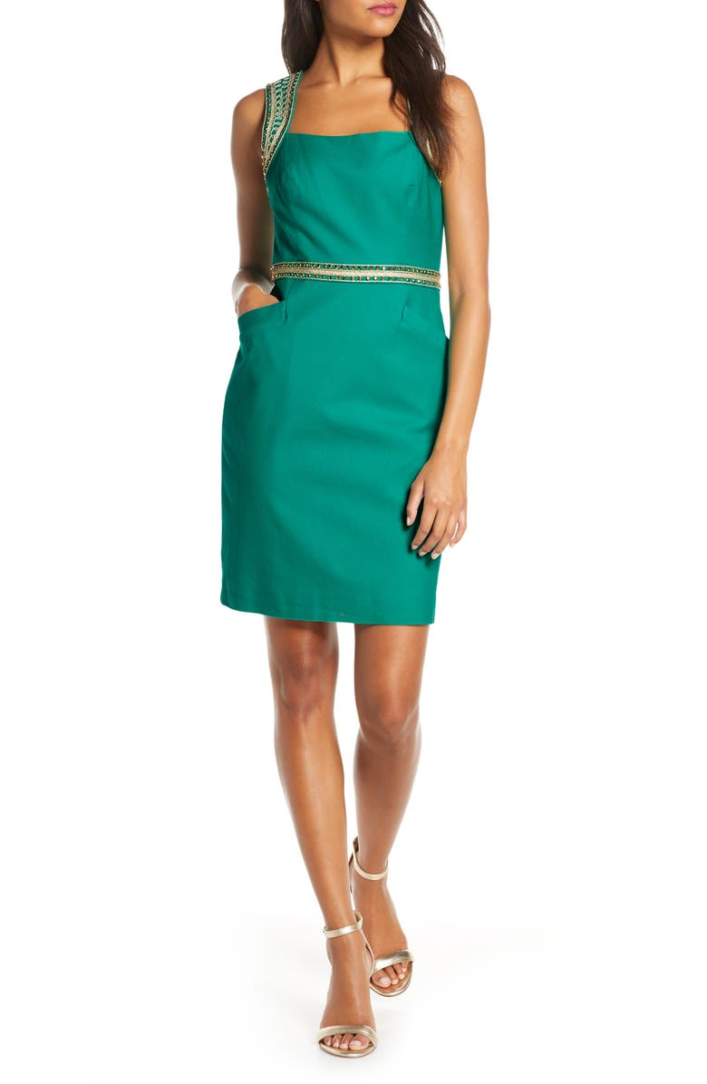LILLY PULITZER<SUP>®</SUP> Dana Stretch Sheath Dress, Main, color, 302