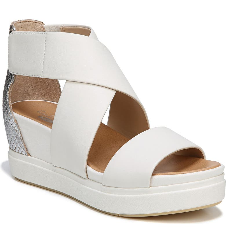 DR. SCHOLL'S Scout Sandal, Main, color, MARSHMALLOW LEATHER