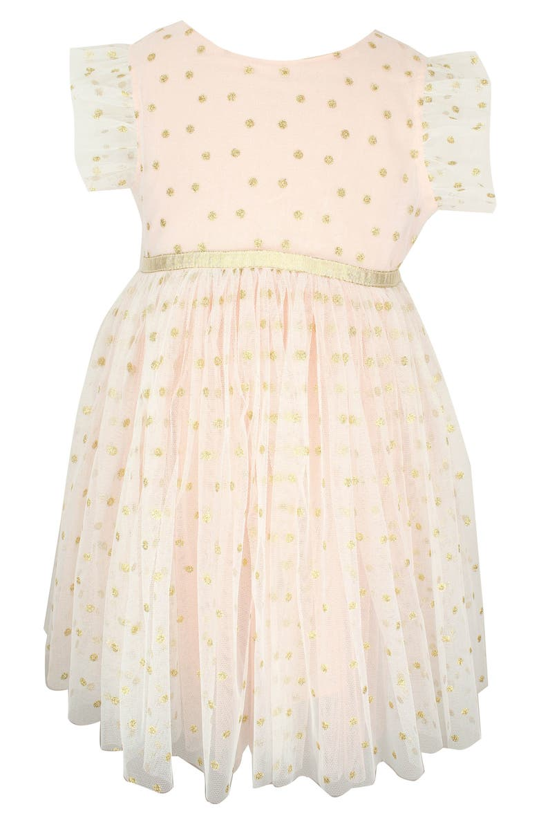 POPATU Dotted Tulle Dress, Main, color, 800