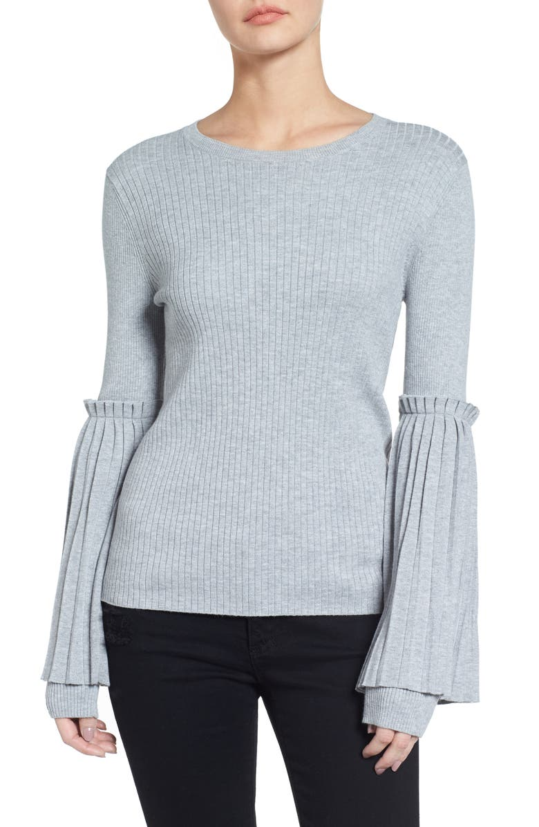 CHELSEA28 Bell Sleeve Sweater, Main, color, 050