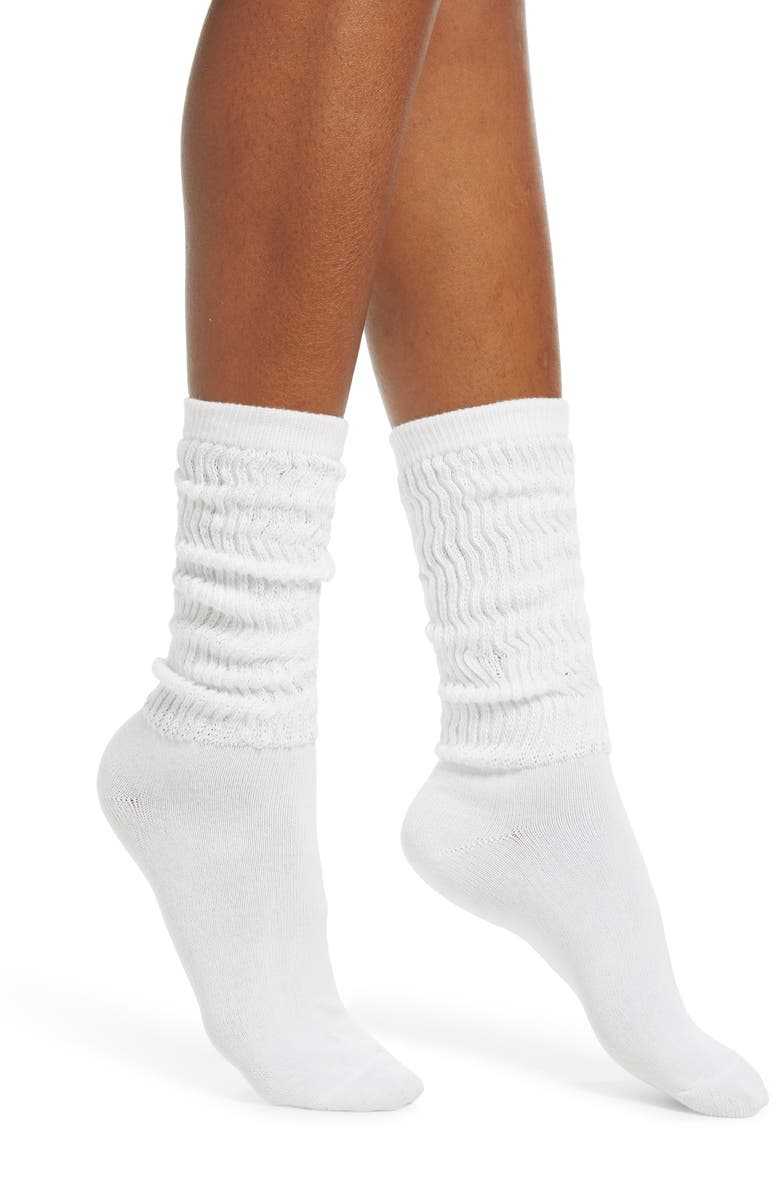 BP. Slouch Crew Socks, Main, color, 100
