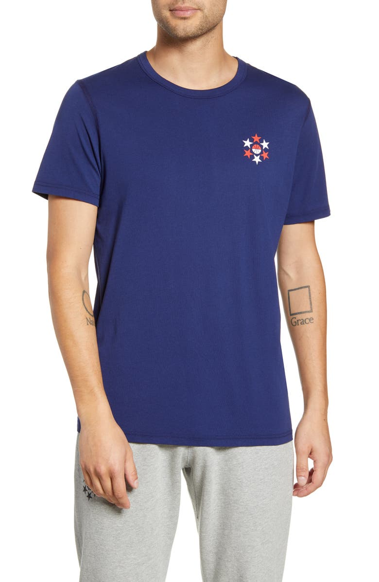 REIGNING CHAMP Legacy Graphic T-Shirt, Main, color, 400