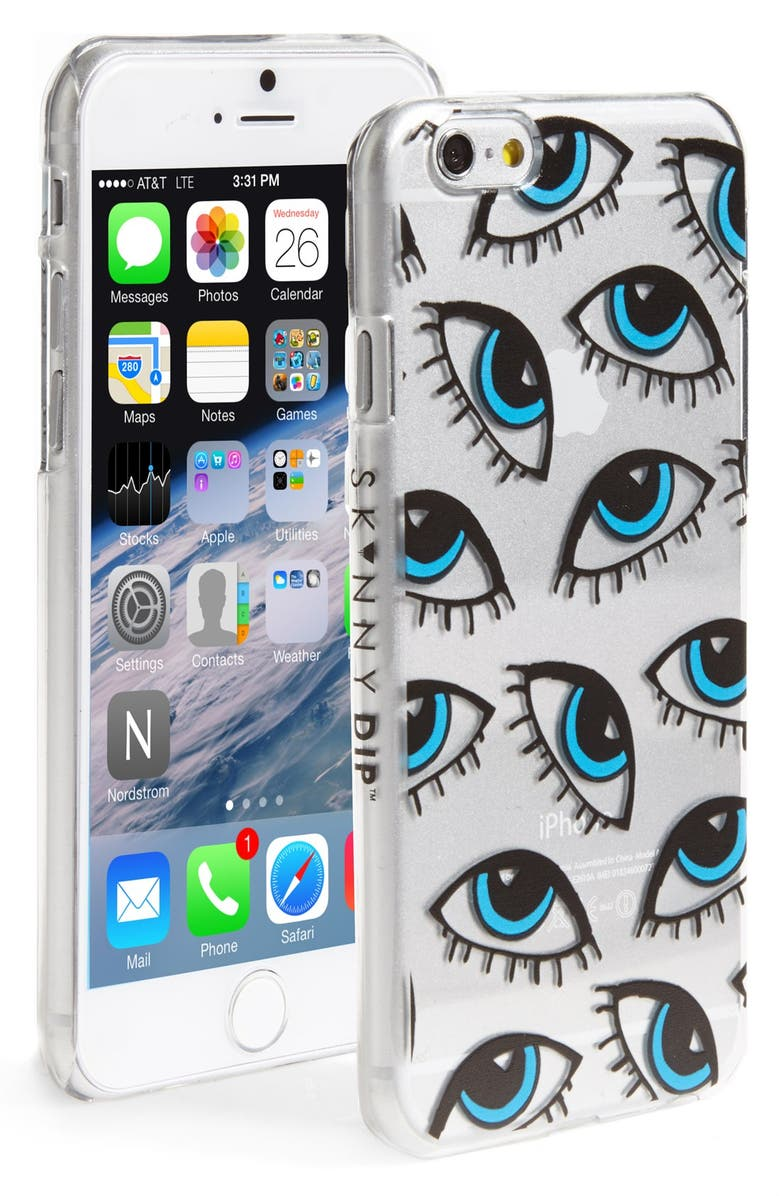 SKINNYDIP 'Eye' iPhone 6 & 6s Case, Main, color, 400
