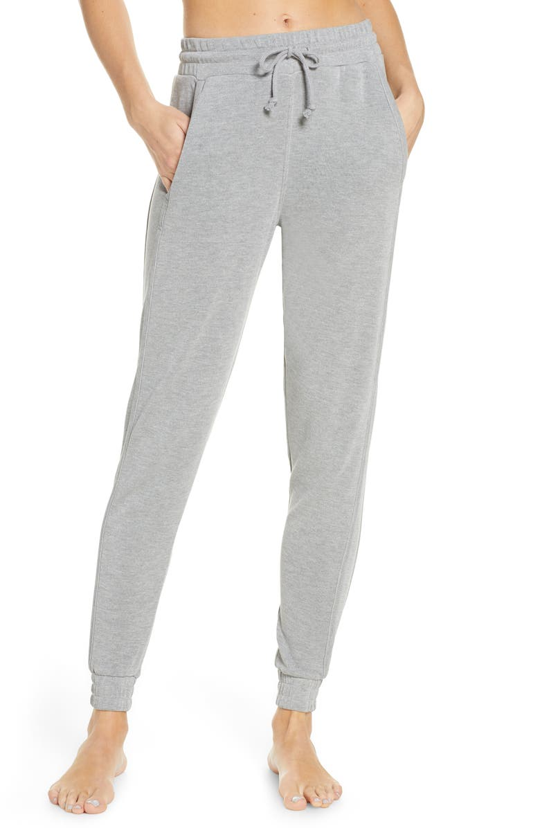 FREE PEOPLE FP MOVEMENT Back Into It Joggers, Main, color, GREY COMBO